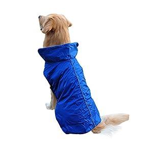 ACHTUNG:  Bevor Sie den Hunderegenmantel bestellen, bitte messen Sie die Rückenlänge und Größe des Hundes mit einem flexiblen Maßbandvor allem. Wenn Ihr Haustier haben starken Körper oder buschig, würden Sie sich besser die größere Größe entscheiden...