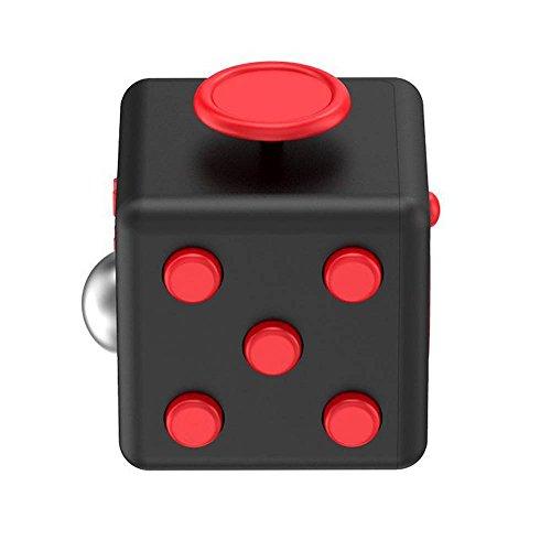 Preisvergleich Produktbild Fidget Spielzeug, CrazyFire Fidget Cube Anti Stress Gadget Spielzeug, Würfel Spielzeug,Puzzle Cube Magie Regenbogen Ball Geeignet bei Nervosität, zappeligen Händen für Kinder Jugendliche Geschenk (Stresswürfel Cube)
