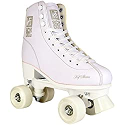 KRF The New Urban Concept School PPH Patines Paralelos, Unisex Niños, Blanco, 39