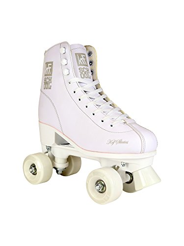 KRF The New Urban Concept School PPH Patines Paralelos, Unisex Niños, Blanco, 36