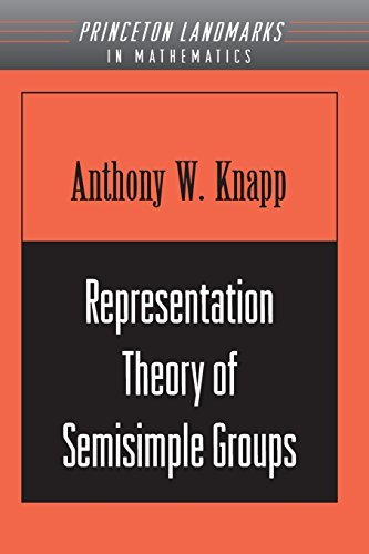 Representation Theory of Semisimple Groups: An Overview Based on Examples. (PMS-36). (Princeton Mathematical Series) by Anthony W. Knapp (2001-09-17)