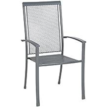 Gartenstühle hochlehner stapelbar  Suchergebnis auf Amazon.de für: metall gartenstühle