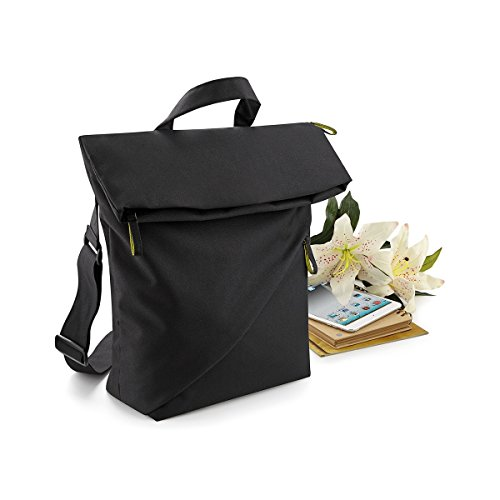 Bagbase - Tracolla per Laptop - Unisex Nero