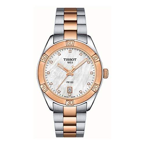 Tissot T-Classic PR100 Sport Chic Lady orologi T101.910.22.116.00