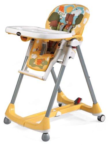 Imagen 1 de Peg Perego Prima Pappa Diner Theo - Trona infantil, color amarillo