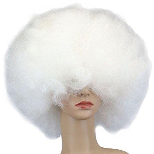 Tinksky Clown Perücke Kostüm Wig Afro Perücke