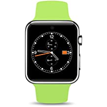 Bingo T50S Neon Green Voice Control 360-degree arc HD Screen Smartwatch Supports Bluetooth
