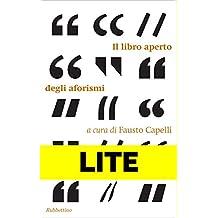Il libro aperto degli aforismi - LITE: Estratto gratuito