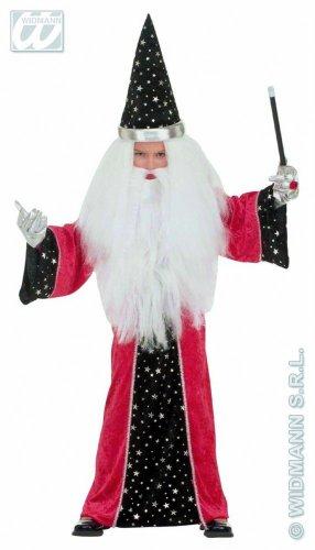 Widmann-WDM4390M Kostüm für Mädchen, Weiß Rot Schwarz, WDM4390M