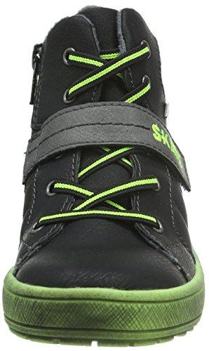 s.Oliver 35300, Sneakers Hautes Garçon Noir (Black 1)