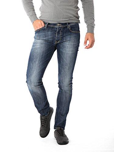 FIFTY FOUR - Jeans da uomo stretch hadar w33 denim