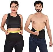 DAZIBAO Shaper Belt Non-Tearable Tummy Trimmer Slimming Belt for Men and Women (Size S, M, L, XL, XXL, 3XL, 4X