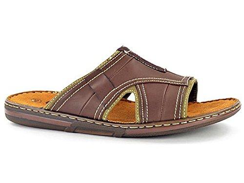 mens-go-easy-leather-look-slip-on-sport-beach-surf-flip-flop-mule-sandals-shoe-size-7-11-uk-7-327420