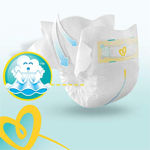 Pampers Premium Protection, Monthly Saving Pack, Soft Comfort, Approved by British Skin Foundation, Size 2, 240 Nappies, 4-8 kg