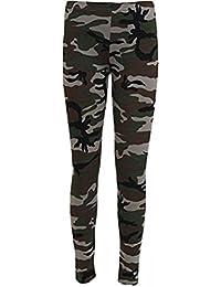 14ab2fd82ec7e New Womens Leggings Ladies Elasticated Waist Army Military Camouflage Print Leggings  Plus Size 8-22