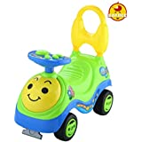 Baybee Smiley Ride-on Car (Yellow)