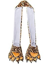 Blue Banana Leopard Schal
