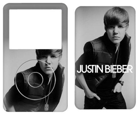 MusicSkins Justin Bieber My World 2.0 Schutzfolie für Apple iPod Classic 80/0 12 (DE)/160 GB (Justin Bieber Ipod)