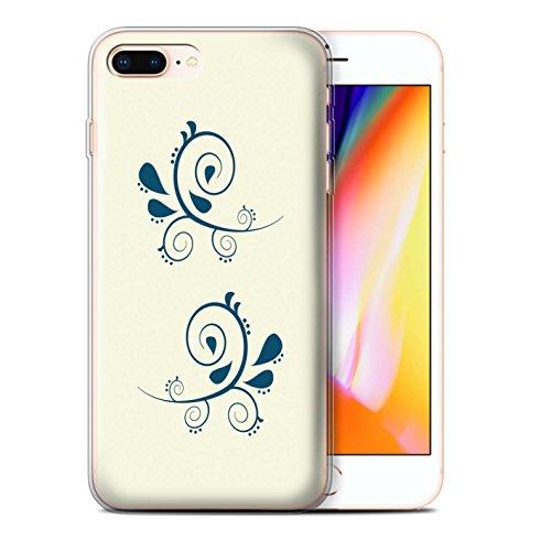 Stuff4 Gel TPU Hülle / Case für Apple iPhone 5/5S / Martini-Glas/Alkohol Muster / Teal Mode Kollektion Ast/Muster