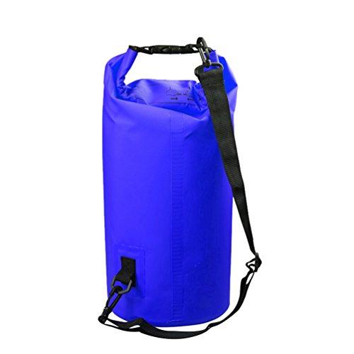 Yuanu Multifunktion Wasserdichter Rucksack Faltbare Wasserfeste Tasche Mit Verstellbarem Schultergurt, Dauerhaft Wasserdicht Packsack Für Angeln Wandern Camping Boating Floating Dunkelblau 5L Snowboard-boots Größe 12