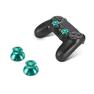 Supremery Playstation 4 Dualshock 4 Aluminium Buttons Kappen Analog Sticks Thumbsticks Ersatzteile Zubehör für PS4