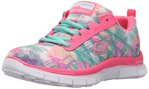 Skechers Appeal Floral Bloom, Chaussures de Running Compétition Fille