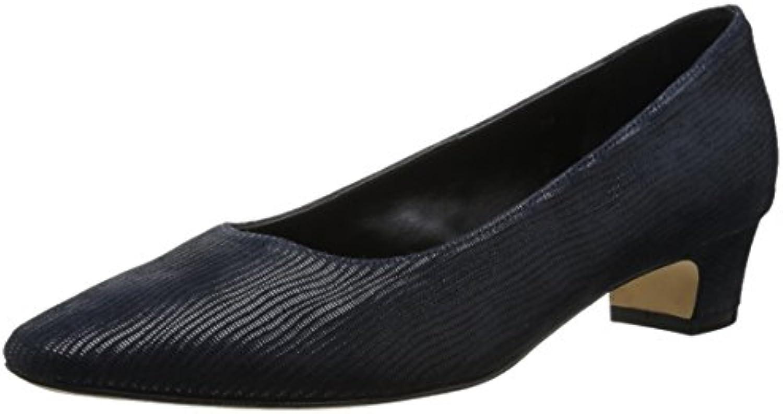 VANELi Astyr, Scarpe col Tacco Donna Nero Nero Nero Nero US Frauen, Blu (Blu Navy), 37.5 EU | Design ricco  a5790e