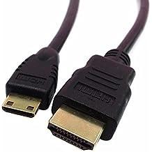ULIAN Mini HDMI a HDMI 1.3 versión de la cámara DV SLR dedicado soporte 1920 * 1080 0.5 M