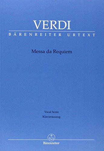 Messa da Requiem. Klavierauszug