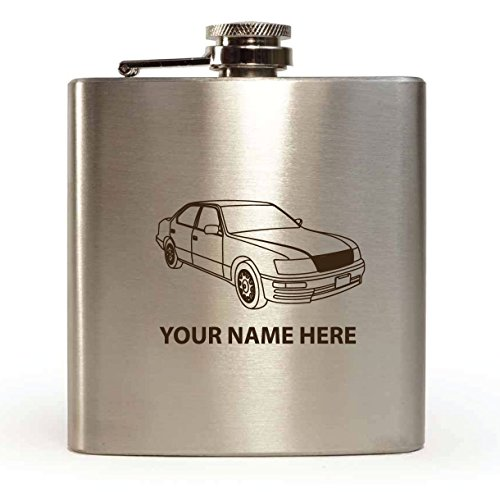 lexus-ls400-amazing-engraving-flasque-personnalisable-avec-boite-cadeau-design-et-entonnoir