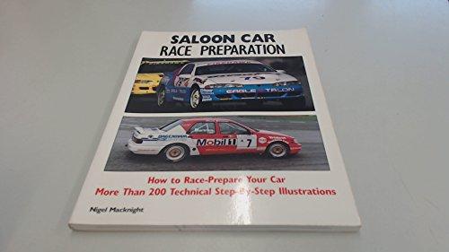 Saloon Car Race Preparation
