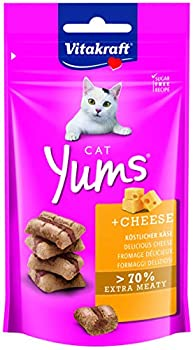 Vitakraft Cat YUMS Fromage Friandise pour Chat 40 g