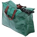 Garland Sac de rangement en polyéthylène pour éclairage de Noël Vert