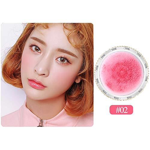 Allbesta Air Cushion Rouge Stick Wasserfest Makeup Dezent-matter Peach Blush für einen frischen Alltags-Teint für alle -
