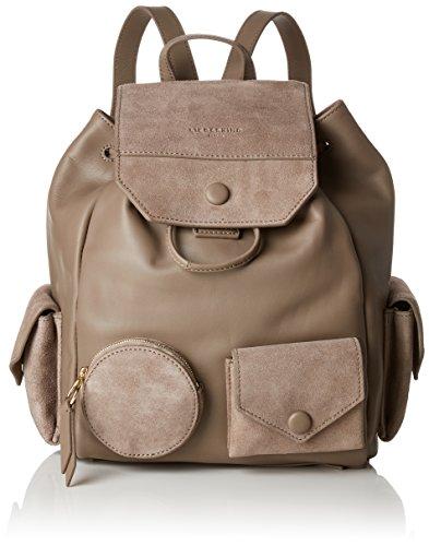 Liebeskind Berlin Damen Backpackm Capoes Rucksackhandtasche, Braun (Cold Grey), 21x27x37 cm