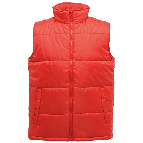 Regatta Mens Classic Bodywarmer Gilet Polyester TRA808 Red Classic Red