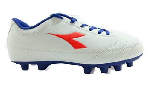 Diadora , Chaussures de foot pour homme Bianco/BluRosso/Fluo 39 Bianco/BluRosso/Fluo