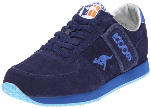KangaROOS Combat-Suede, Baskets Basses Mixte Adulte Bleu (navy/royal 441)