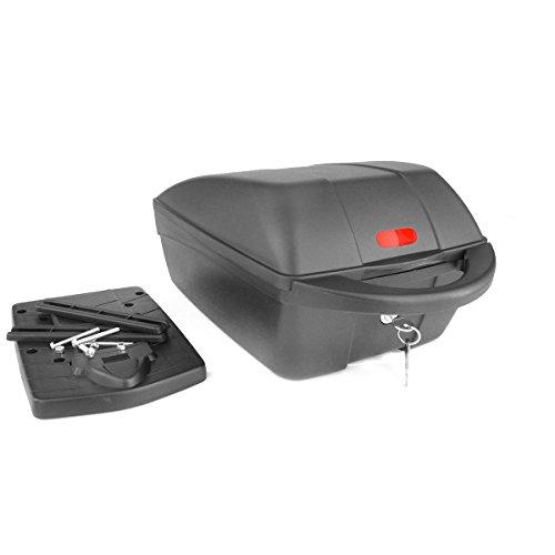 fahradkoffer Polisport Gepäckträgerbox Top Case, schwarz, 05120100