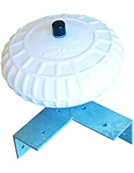 Dock Edge Protection d'angle wheel-white, 30,5cm, mixte, Corner Protection