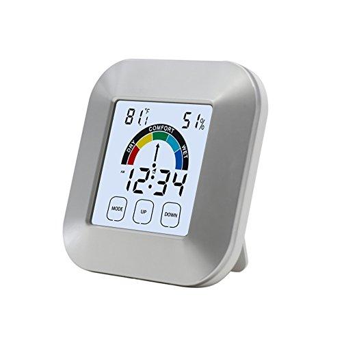 FRISTONE Funk Thermo Hygrometer-Wetterstation Hygrometer Wetterstationen Mit Vorhersage Temperatur Luftfeuchtigkeit Außensensor