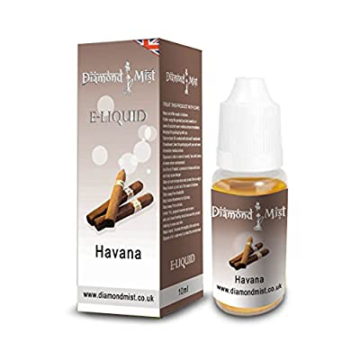 Diamond Mist 10 ml Havana E-Liquid from Diamond Mist