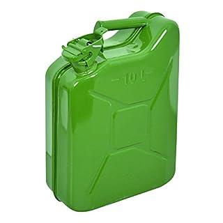 Carpoint 0110011 Petrol Can Metal  10 l Green