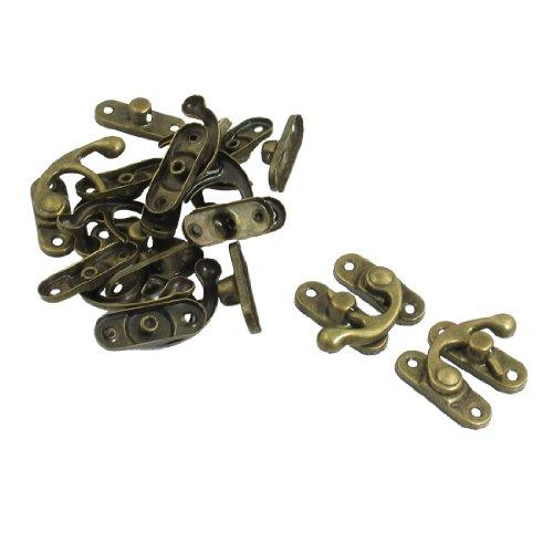 Sourcingmap a12102400ux0572-10 torque swing door home security metal lock buckle tone bronze