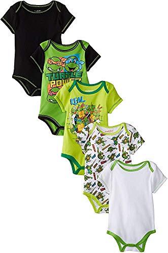 Baby Boy t-shirtnage Ninja Turtle Tights 5pcs 24Months