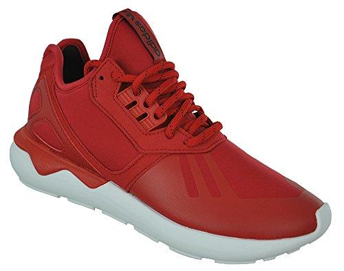 adidas Tubular Runner Power Red 45 (Basketball Heels Adidas)