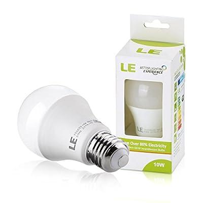 LE 10W E27 A60 LED Lampen, Ersatz für 60W Glühlampen, 810lm, warmweiß, 2700K, 240° Abstrahlwinkel, LED Birnen, LED Leuchtmittel von Lighting EVER auf Lampenhans.de