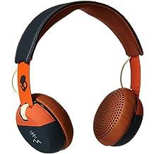 Skullcandy Explore More - Auriculares con TapTech, color naranja y negro