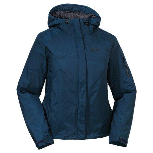 Jack Wolfskin Damen Wetterschutzjacke Mount Moran Jacket Women, Night Blue, L, 1104462-101 Preisvergleich