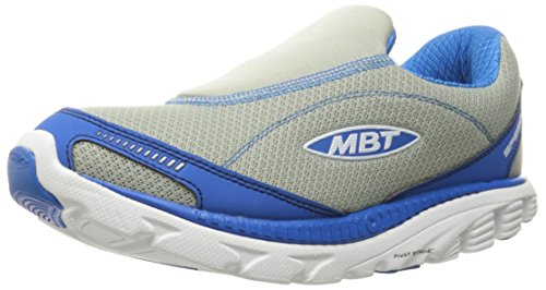 MBT Men's Speed 16 Slip on M Fitness Shoes, Grey, Varies